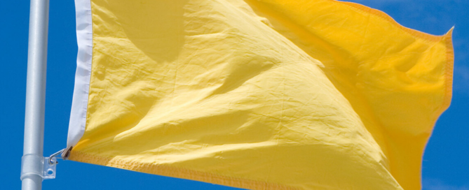 Banderas amarillas