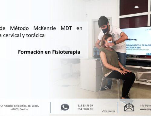 Formación en Fisioterapia: Método McKenzie MDT en columna cervical y torácica en Sevilla centro