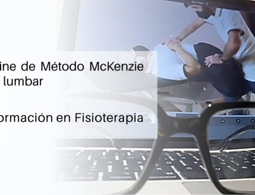 Primer curso online de Método McKenzie MDT en columna lumbar en Sevilla centro.